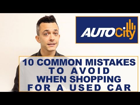 10 Common Mistakes To Avoid When Shopping for Used Cars
