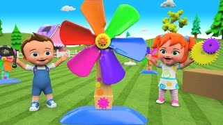 Kids Preschool Activities | Little Babies Fun Play Assembling Toy Fan 3D Toy Set Children Education