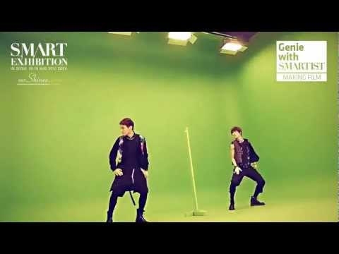 Key and Taemin - Genie Making Film for SMART Exhibition