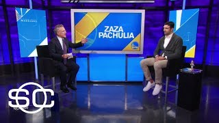 Zaza Pachulia talks which Warrior he likes hanging out with most | SportsCenter | ESPN