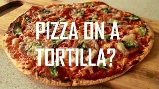 Cheap and Easy - Tortilla Pizza