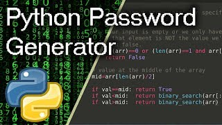 Easy Password Generator In Python