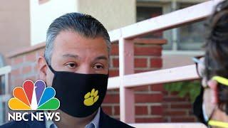 Alex Padilla, California's New Senator, Speaks Out On Covid Crisis   NBC Nightly News