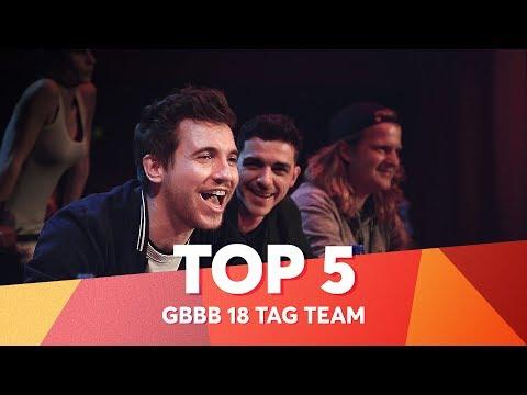 TOP 5 DROPS 😱 Grand Beatbox Battle Tag Team 2018