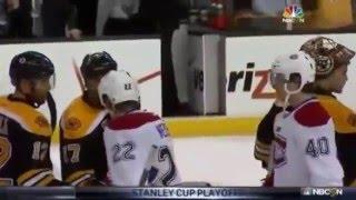 Classic Lucic Hockey Playoff Handshake