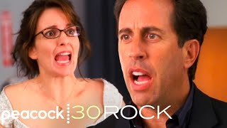 Seinfeld Feels Insulted by Liz   Tina Frey Imitates Jerry Seinfeld   Relationship Advice   30 Rock