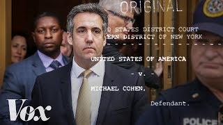 Michael Cohen: Sex, lies, and campaign finance
