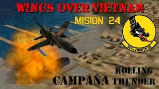 Wings over Vietnam / 357th TFS Licking Dragons / Misión 24