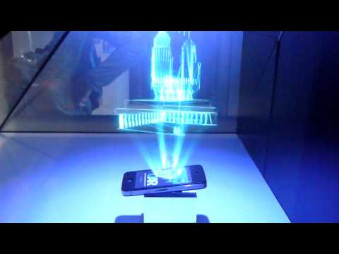 3d Holographic Projection Youtube