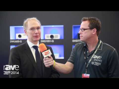 ISE 2014: Klaus Hilles Welcomes rAVe to the Christie Stand