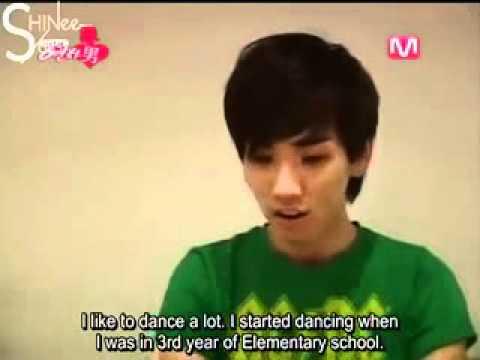 key imitates Taemin's debut days