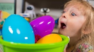 HUGE Mattel Surprise Egg Basket Toys for Boys and Girls Blind Bags Surprise Eggs Kinder Playtime