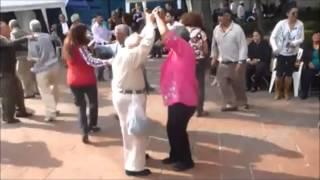 Old Man Throws Down Crutches To Rage Camden Billie Jean / Thriller Jam