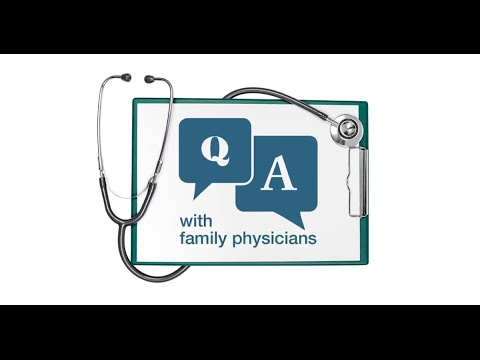 AAFPINS presents: Q & A with Family Physicians