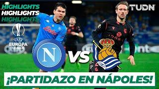 Highlights   Napoli vs Real Sociedad   Europa League 2020/21 - J6   TUDN