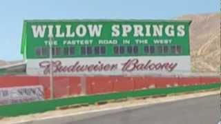 Willow Springs Raceway - Dramatic car crash