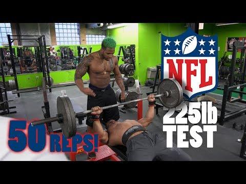 Larry Wheels & Terron Beckham NFL 225 Bench Test  | Athlete Vs Record Breaker Powerlifter
