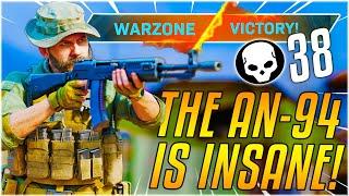 THE NEW BEST GUN IN WARZONE?! I Drop 38 Kills SOLO With The AN-94 [Season 5 Modern Warfare]