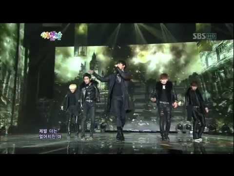 다이나믹 블랙 (Dynamic Black) [Yesterday] @SBS 2012 가요대전 The Color of K-pop 20121229