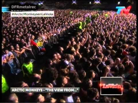 Arctic Monkeys live at Quilmes Rock 2012