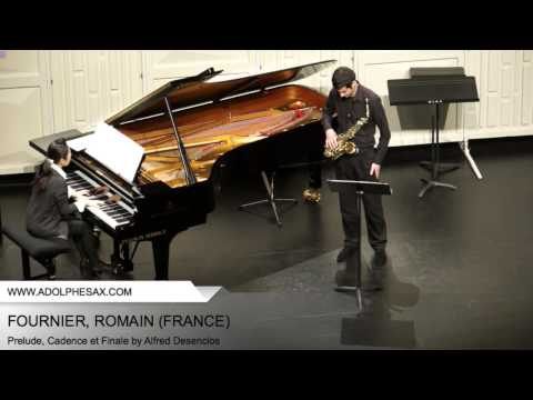 Dinant 2014 - Fournier, Romain - Prelude, Cadence et Finale by Alfred Desenclos