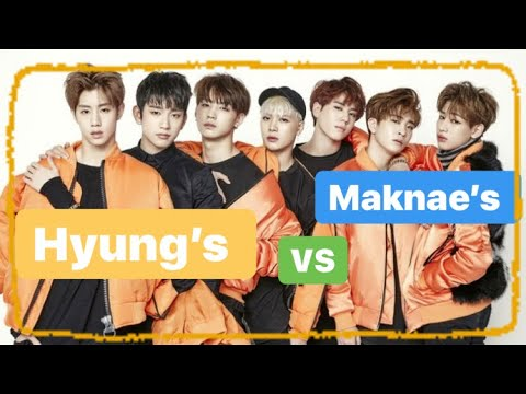 GOT7 Hyung's and Maknae's_Team Chooses