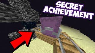Minecraft's Secret Achievement...