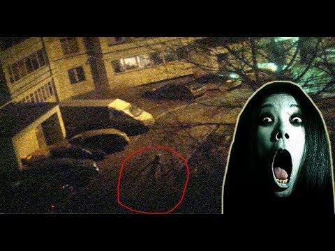 Criatura estranha escalando prédio na Rússia, Slender man?