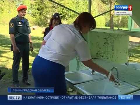 В Ленинградской области проверяют детские лагеря