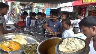 Cheap & Best Kolkata Street Food - Kulcha/Roti/Fried Rice/Paneer/Palak - Whatever You Want