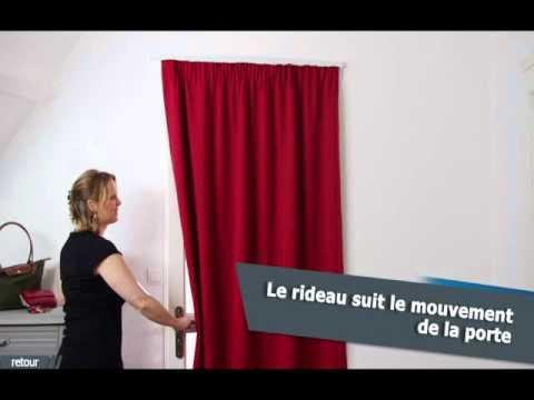 ridorail ib tringle pour habiller votre porte avec un. Black Bedroom Furniture Sets. Home Design Ideas