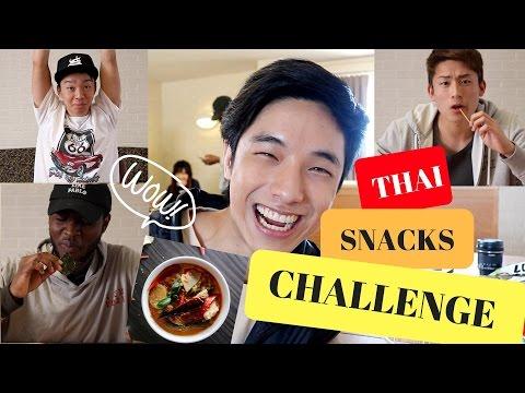 ขนมไทย VS ชาวต่างชาติ Thai Snacks Challenge!!