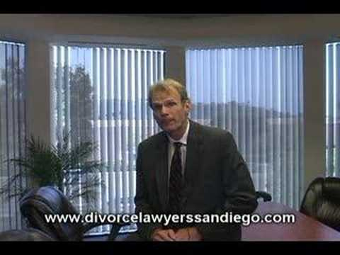 San Diego family attorney Michael Fischer from the law firm of Fischer & Van Thiel LLP talks about marriage separation
