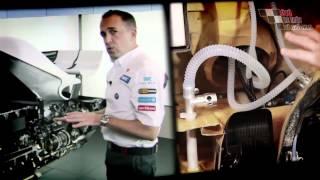 Cắt đôi xe đua Sauber F1