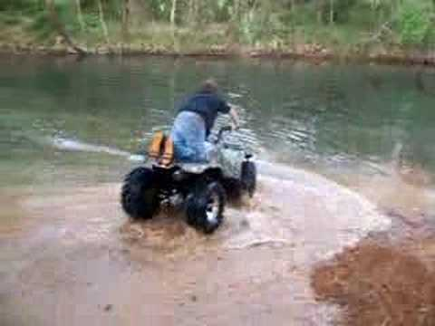 big atv water wheelies