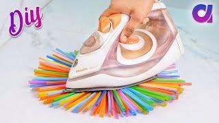 10 genius Drinking Straw Craft ideas to make in 5 minutes   Artkala