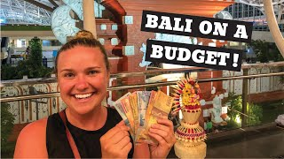 How EXPENSIVE is BALI? | Every day COSTS | Food, Hotel, FUN!