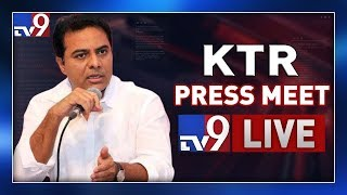 KTR Press Meet LIVE- Hyderabad..