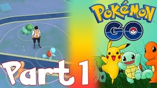 CATCHING MY FIRST POKEMON, POKEMON GO PRICES FOR IN APP PURCHASES   LET'S PLAY POKEMON GO PART 1