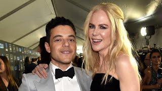 Watch Rami Malek and Nicole Kidman Reunite After Awkward Golden Globes Moment! (Exclusive)