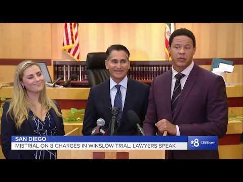 Attorneys speak following mistrial on 8 charges in Kellen Winslow II rape case