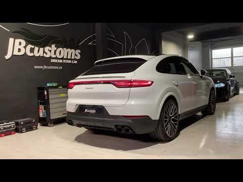 Porsche Cayenne Coupe 9Y3 Gasolina con nuestro sistema completo JB Customs