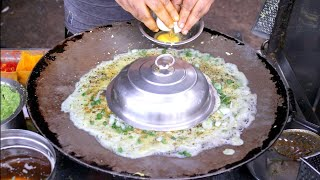 The Master of Making Unique Egg Omlette cream cheese|| Must Watch