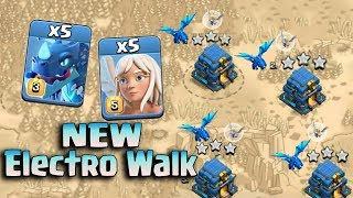 New Electro Dragon With Queen Walk Attack Strategy 2019! New Electro Walk 3star TownHall 12 Bases