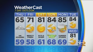 New York Weather: CBS2 Evening Forecast at 5PM