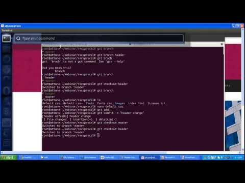 Create and Manage Branch with Git Webinar Video