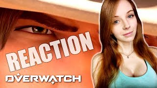 REACTION: McCree REUNION Cinematic & Ashe GAMEPLAY Trailer - BlizzCon 2018