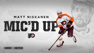 Flyers Mic'd Up: Matt Niskanen