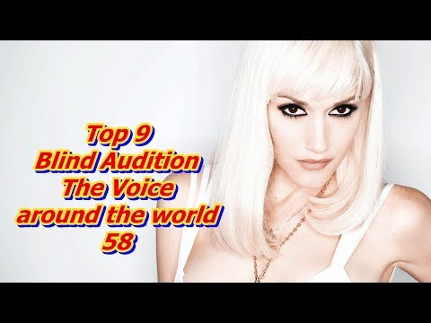 Top 9 Blind Audition (The Voice around the world 58)