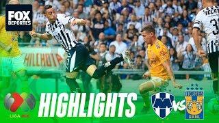 Rayados 1-1 Tigres   HIGHLIGHTS   Jornada 10   Liga MX